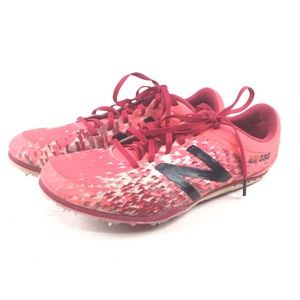 NEW BALANCE Pink Running Cleats Size 7